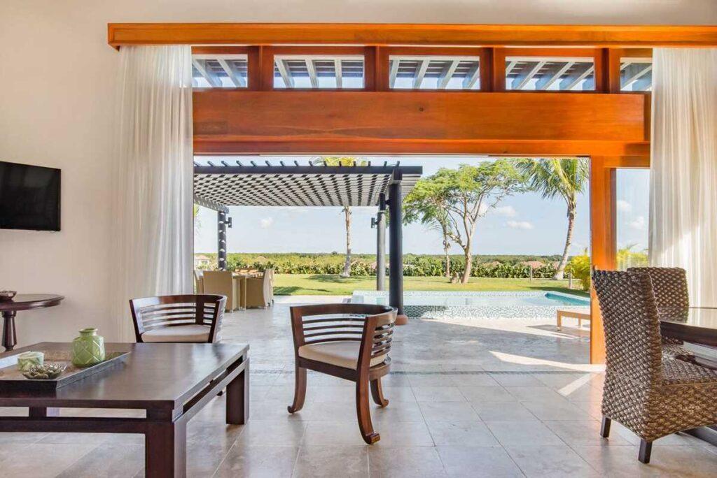 A elegant garden villa in Cap Cana, south of Punta Cana