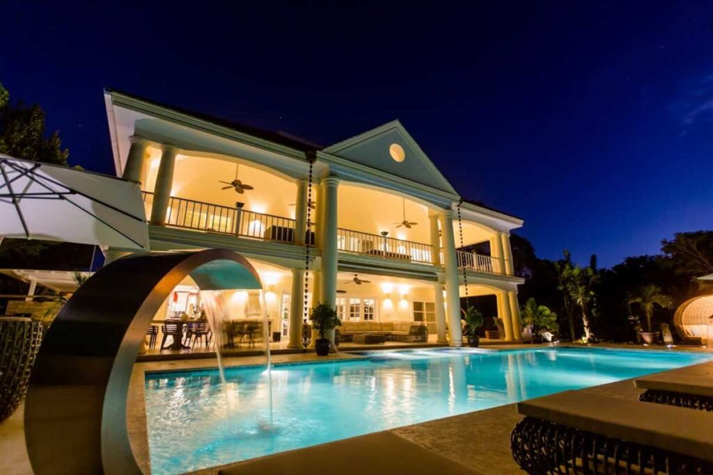A highly entertaining villa in Punta Cana
