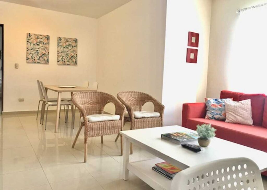 A nice Airbnb at Punta Cana Village, very close to the airport