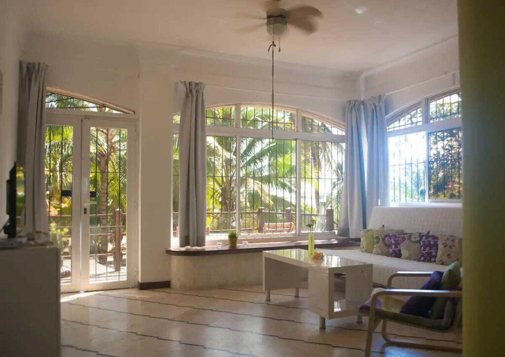 A Boca Chica beach apartment at Airbnb