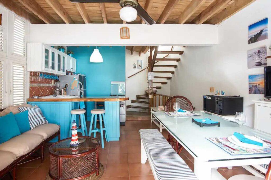 A unique and cozy beach hut in Juan Dolio, bookable via Airbnb