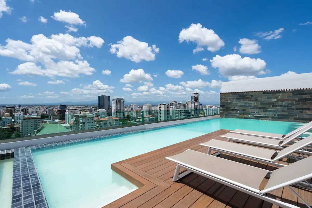 A unique Airbnb in Santo Domingo with an amazing view from the rooftop