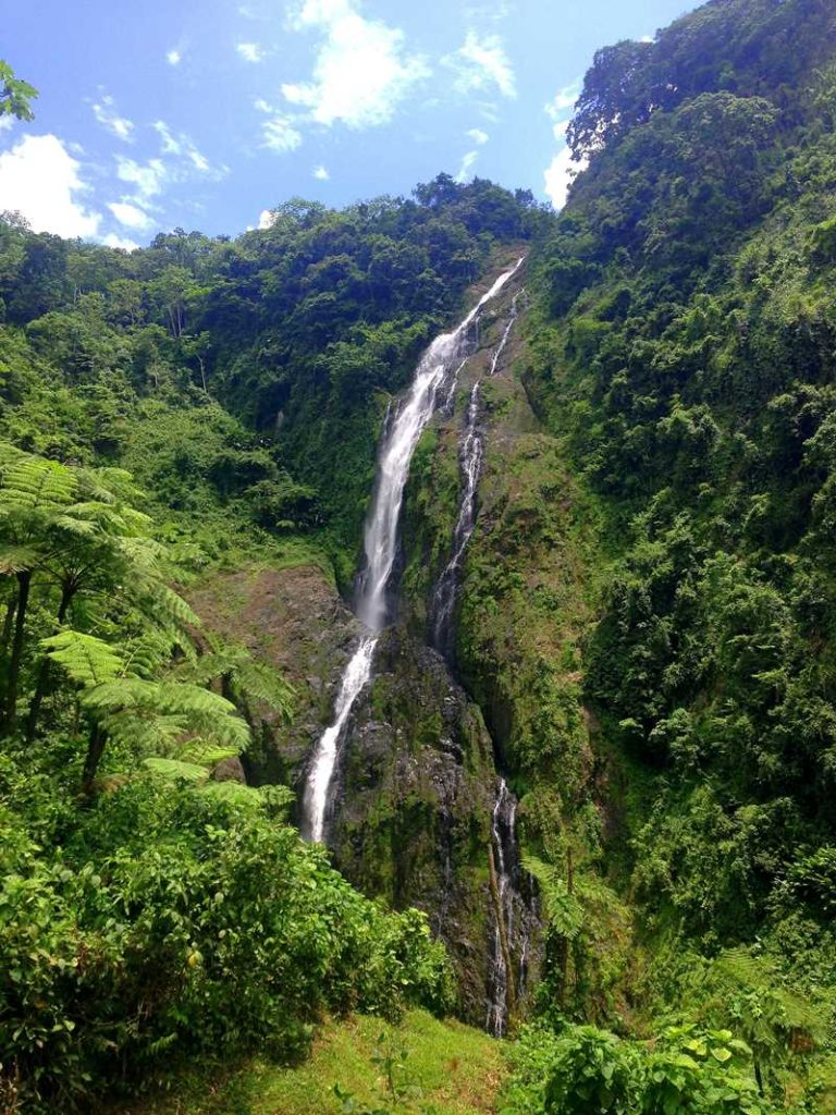 Hike to Salto de la Jalda, the highest waterfall in the Caribbean