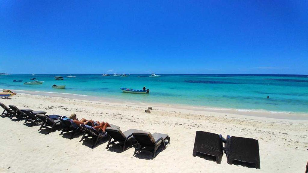 The beach of El Cortecito in Bavaro, Punta Cana
