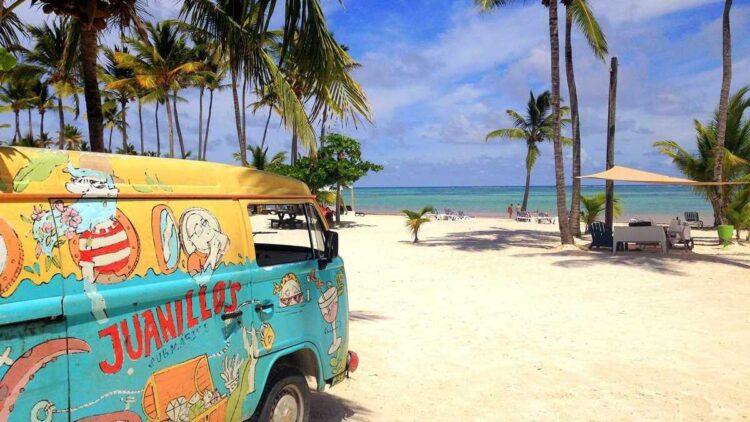 Beautiful Playa Juanillo in Cap Cana, the southern part of Punta Cana