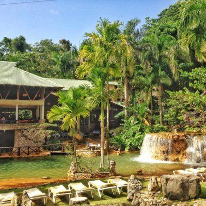 The eco-lodge Paraiso Cano Hondo in the Los Haitises national park