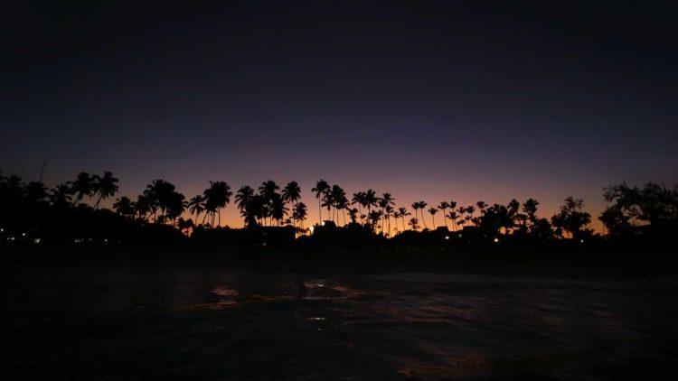 A beautiful sunset in Bavaro, Punta Cana