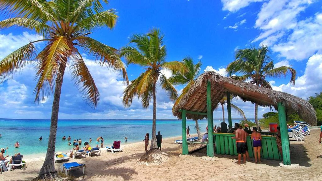 Isla Catalina, a beautiful island on the south coast of the Dominican Republic