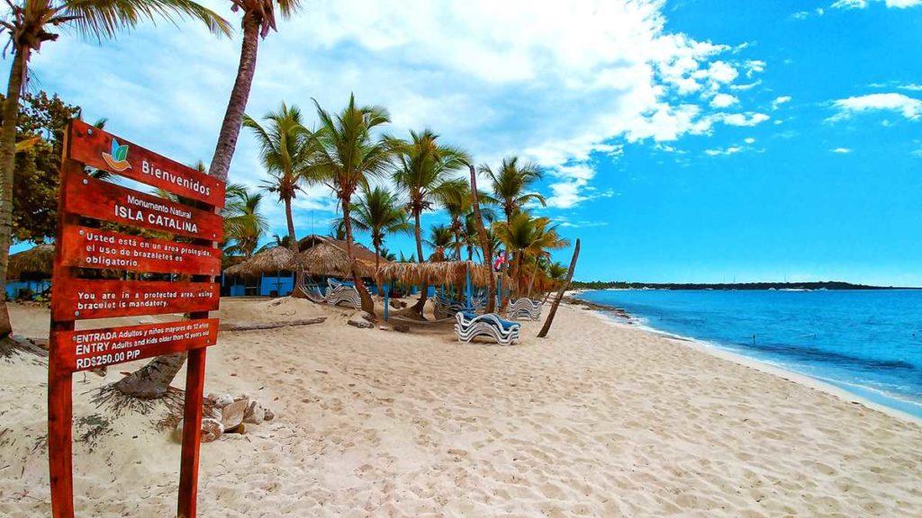 Isla Catalina, a beautiful island on the south coast of the Dominican Republic