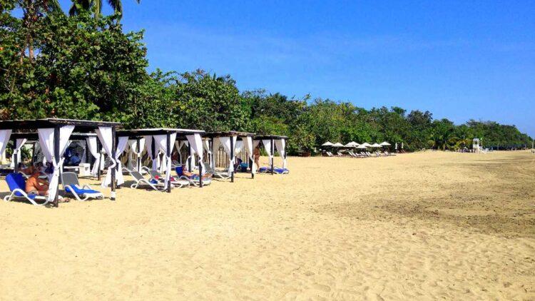 The beach Playa Dorada in Puerto Plata