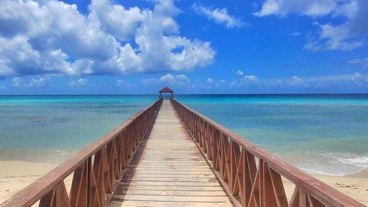 The best beach of Bayahibe, Playa Dominicus