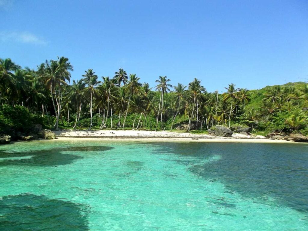 Playa Madame, one of the pristine beaches close to Las Galeras