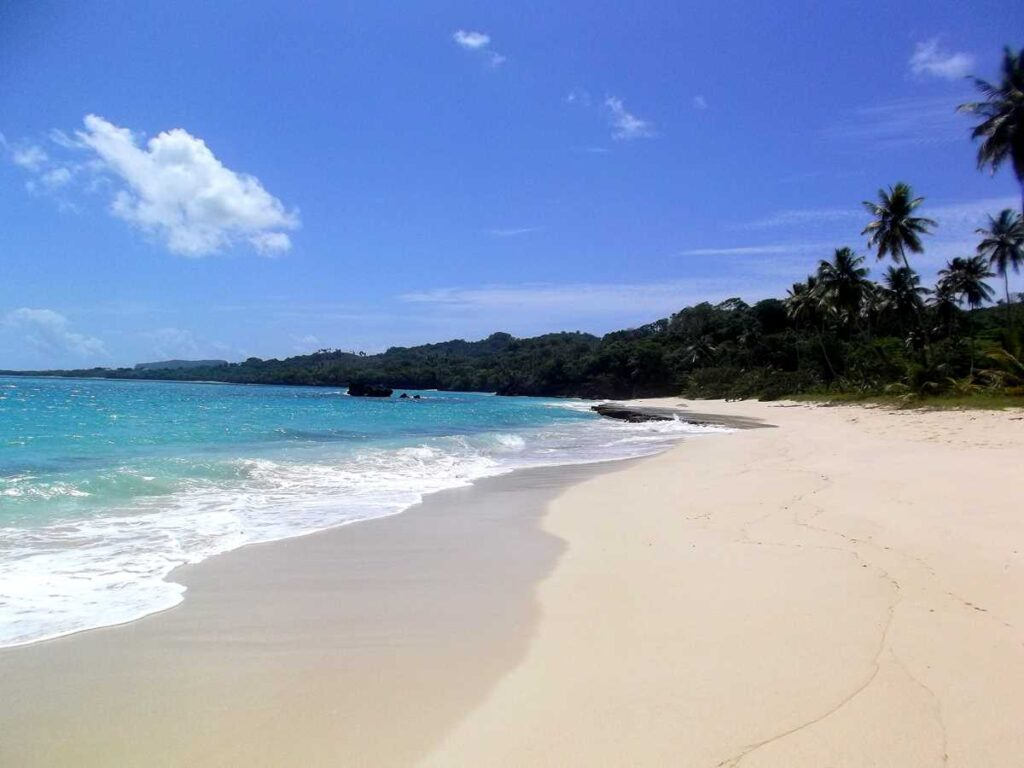 Playa Rincon, voted as one of the best beaches in the entire Caribbean