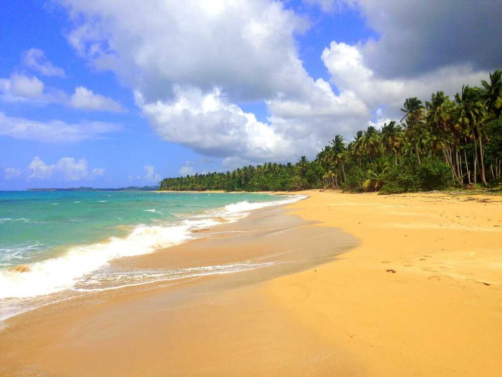 Amazing and mile-long Playa Coson close to Las Terrenas