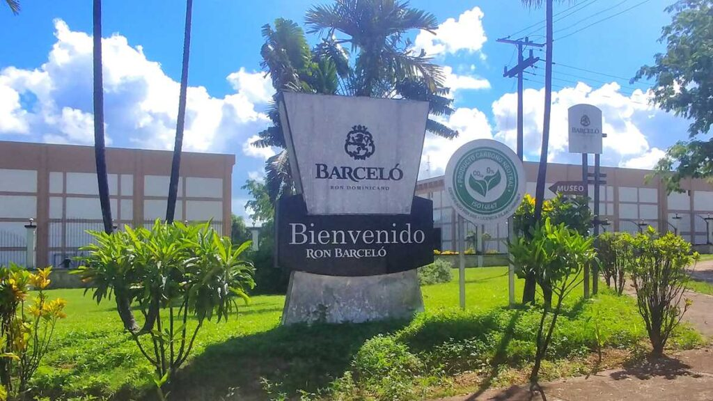 The Barcelo Rum Factory in San Pedro de Macoris