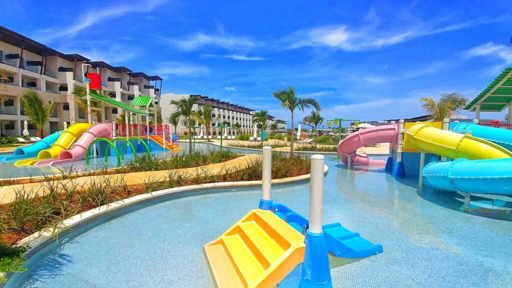 The new Dreams Macao Beach Resort in Macao, Punta Cana - the kids water park