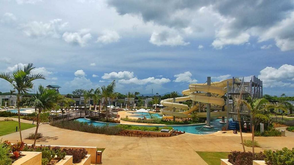 The new Dreams Macao Beach Resort in Macao, Punta Cana - the huge water park