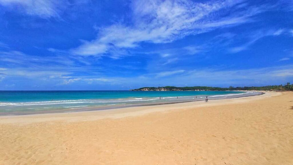 Beautiful Macao Beach in the northern part of Punta Cana