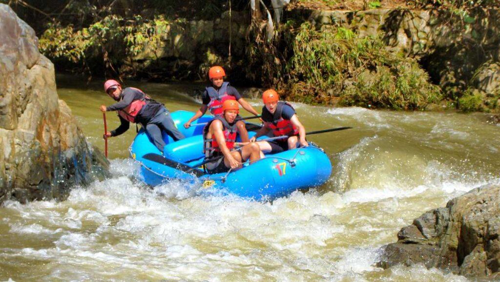 River Rafting in Jarabacoa, Dominican Republic