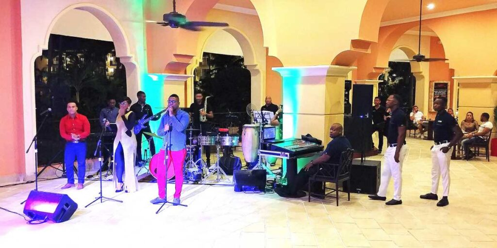 Live Entertainment at Occidental Caribe, one of the many all-inclusive resorts in Punta Cana