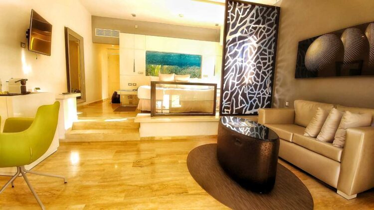 Junior Suite at Paradisus Punta Cana, one of the many all-inclusive resorts in Punta Cana