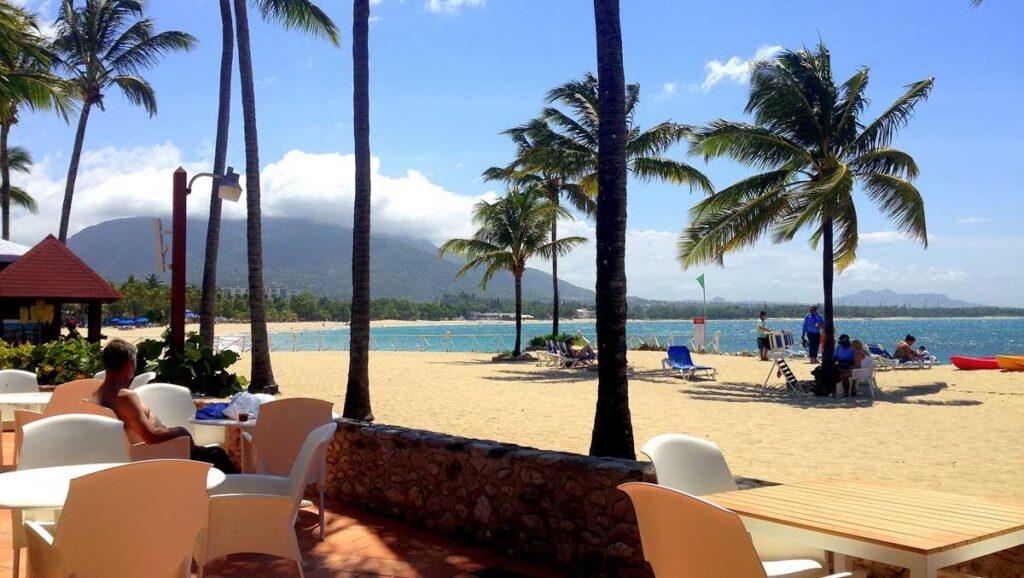 View of Playa Dorada at Grand Paradise Playa Dorada, an all-inclusive resort in Puerto Plata