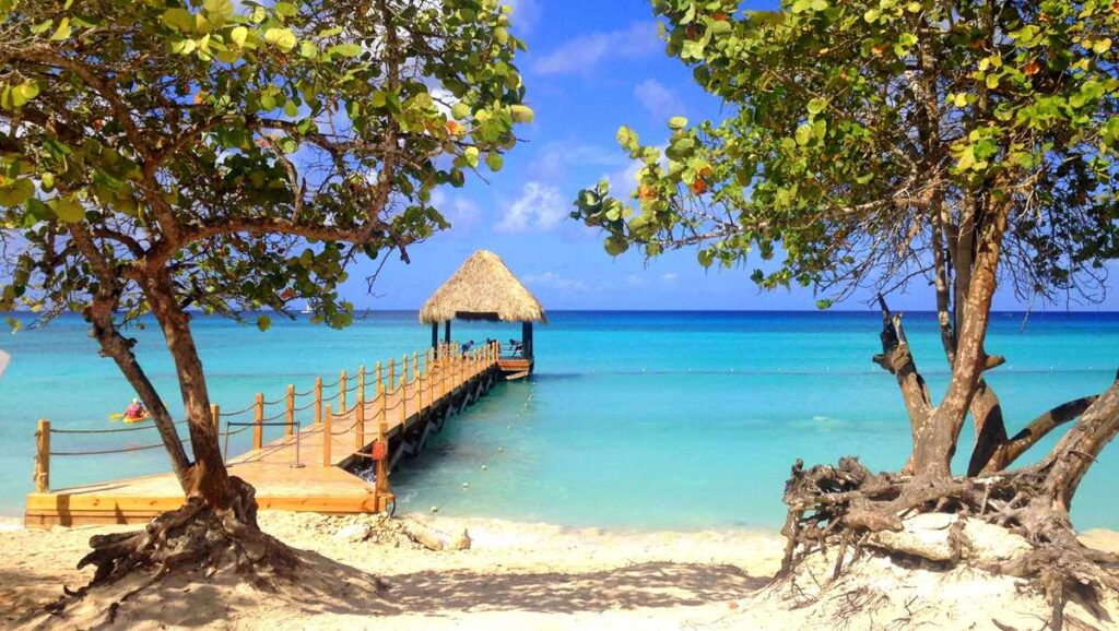 Beach at Dreams Dominicus, an all-inclusive resort in Bayahibe
