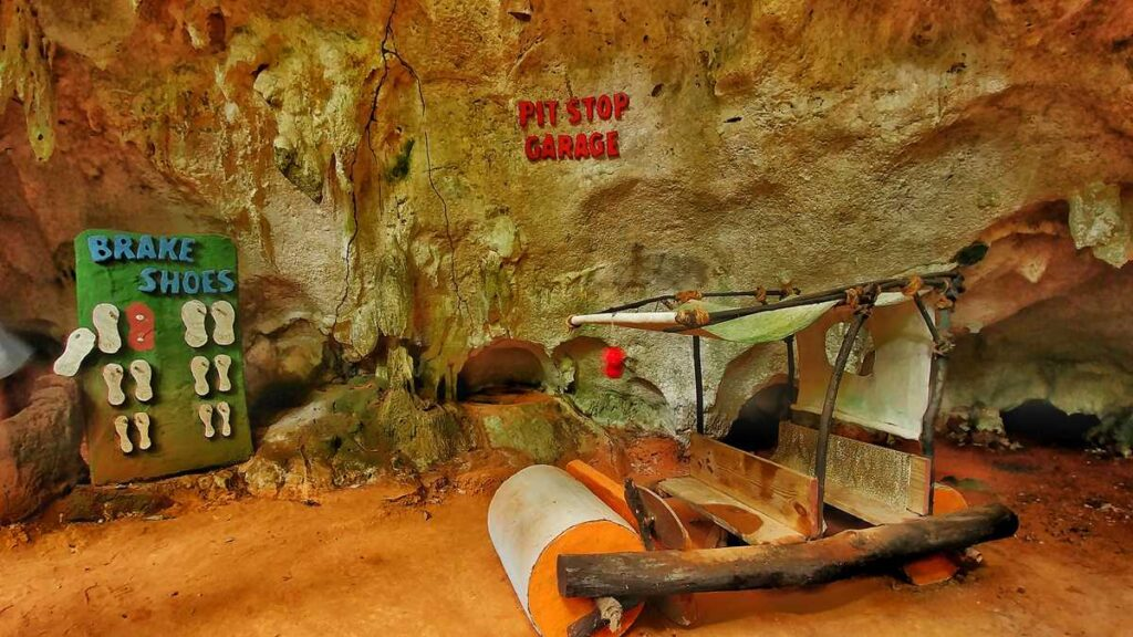 The cave of the Flintstones, visited during the Flintstones Buggy Adventure in Punta Cana