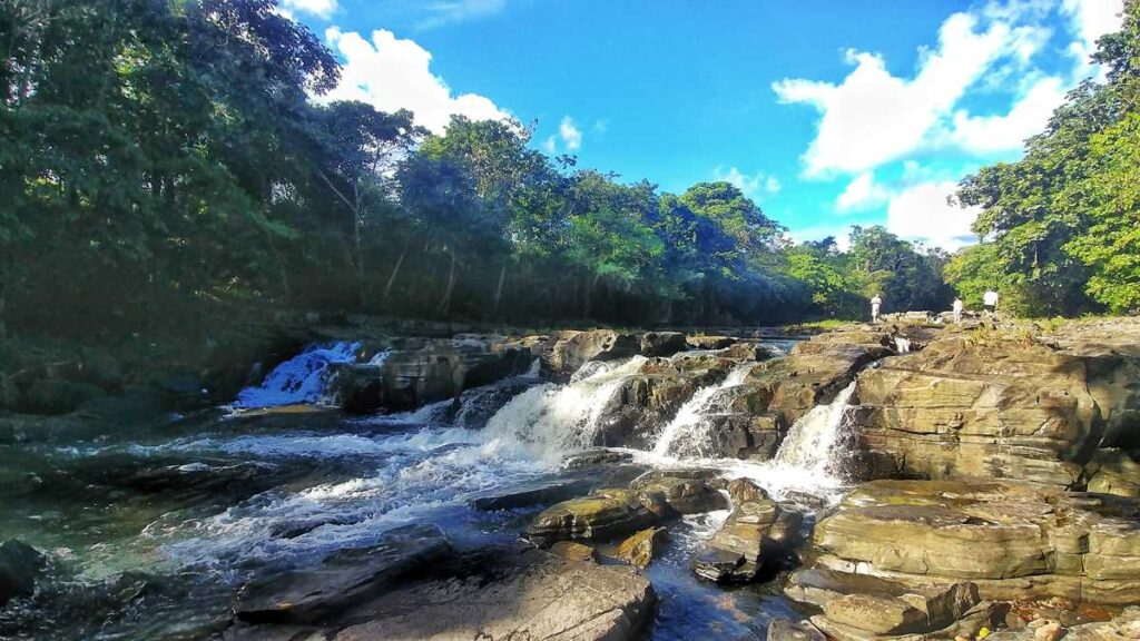 Salto de Anamuya, one of many waterfalls in Punta Cana