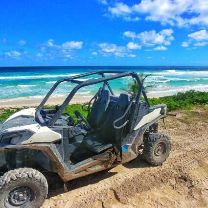 Buggy Tour to one of the pristine beaches in Punta Cana