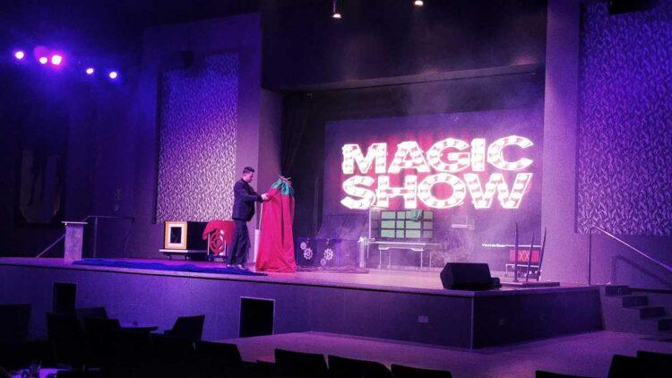 The daily entertainment show at RIU Palace Punta Cana