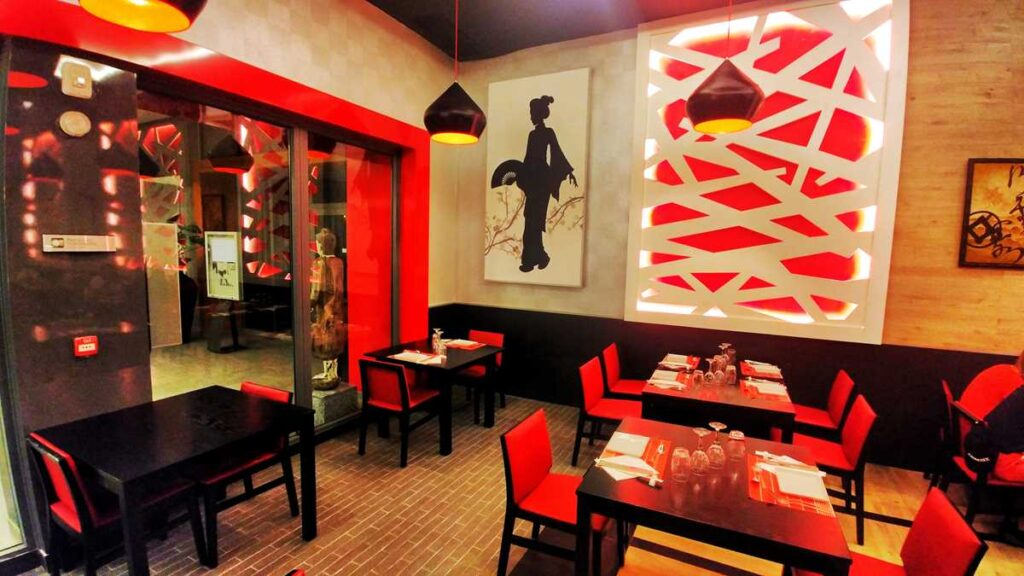The Asian restaurant Yokohama at RIU Palace Punta Cana