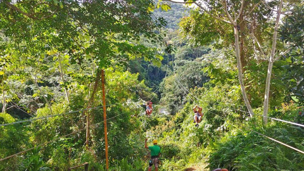 Ziplining Adventure in Punta Cana in the Anamuya Mountains