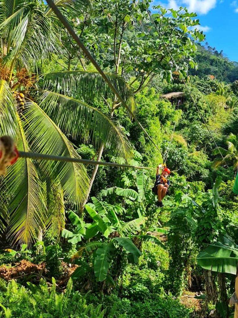 Zipline Tour in Punta Cana in the Anamuya Mountains