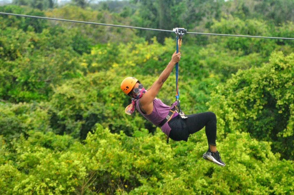 Ziplining Tour in Punta Cana at Bavaro Adventure Park