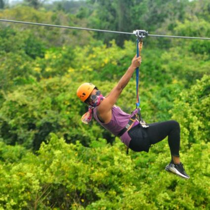 Ziplining Tour in Punta Cana at Bavaro Adventure Park