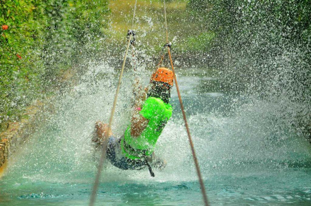 Zipline Excursion in Punta Cana at Bavaro Adventure Park