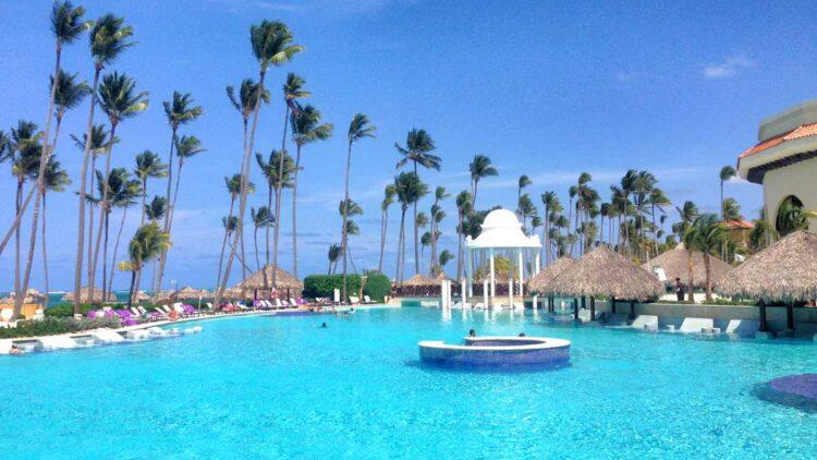 Pool of Paradisus Punta Cana in Punta Cana, Dominican Republic