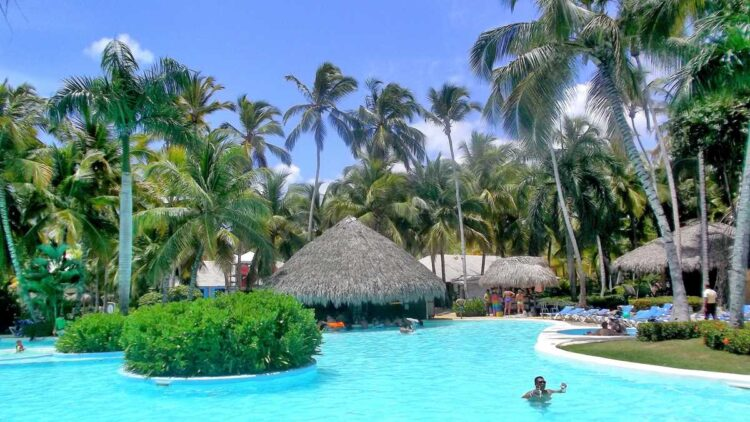 Melia Caribe Beach, another all-inclusive resort in Punta Cana
