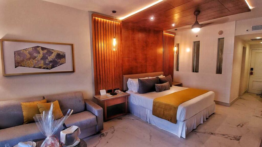 Our Junior Suite at Secrets Royal Beach