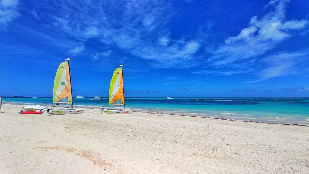 The beautiful Bavaro Beach, one of the best beaches in Punta Cana