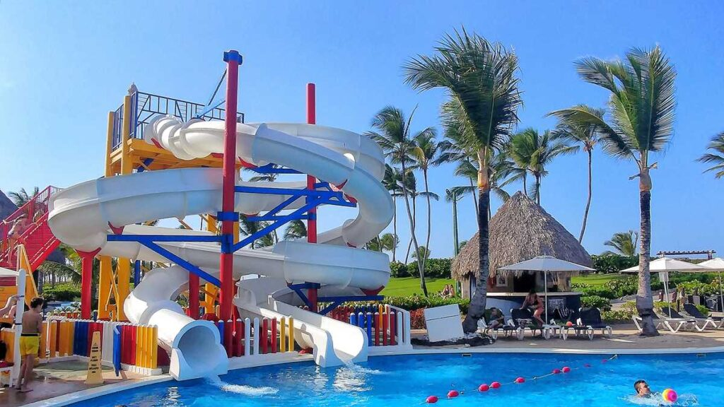 The water park for children at Hard Rock Hotel and Casino Punta Cana
