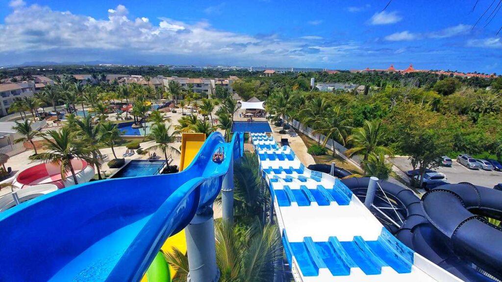 The Splash Water Park in Punta Cana at Royalton