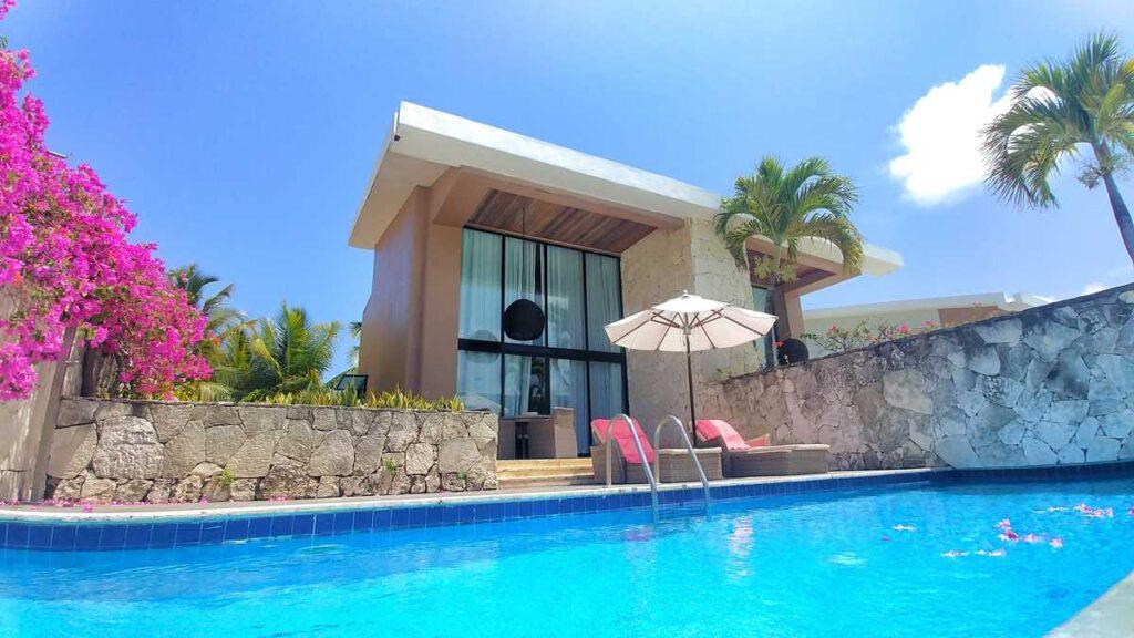 The wonderful duplex villa suites at Catalonia Royal Bavaro