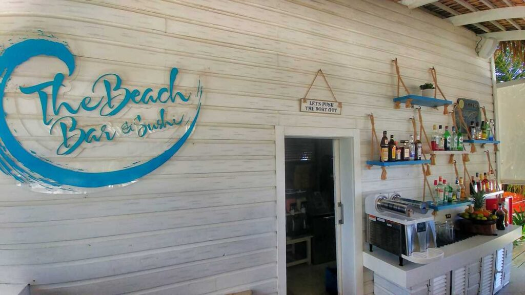 The beach bar at Catalonia Royal Bavaro
