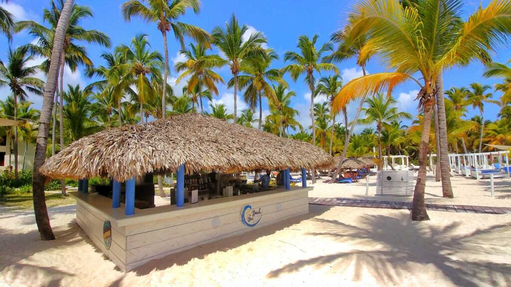 The gorgeous and beautiful beach section of Catalonia Bavaro Beach in Punta Cana