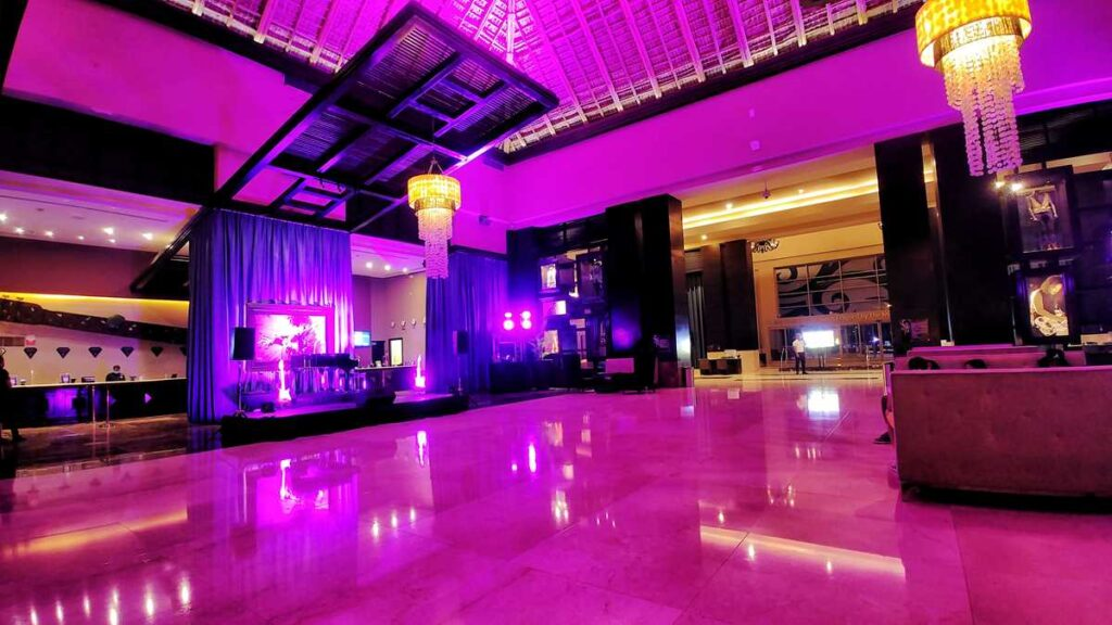 The lobby of Hard Rock Punta Cana All Inclusive Resort
