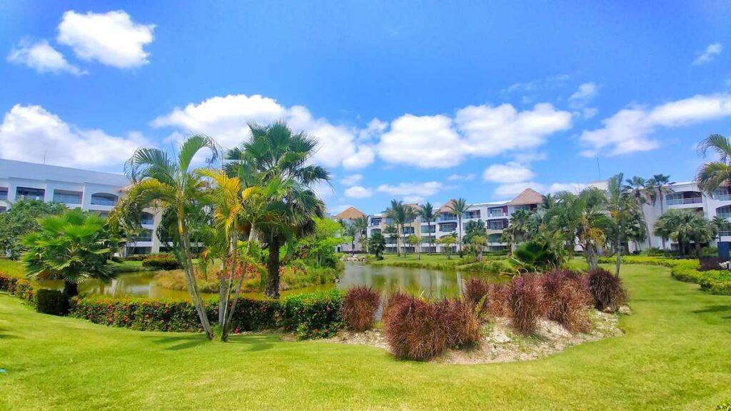 The rooms and green areas at Hard Rock Hotel & Casino Punta Cana