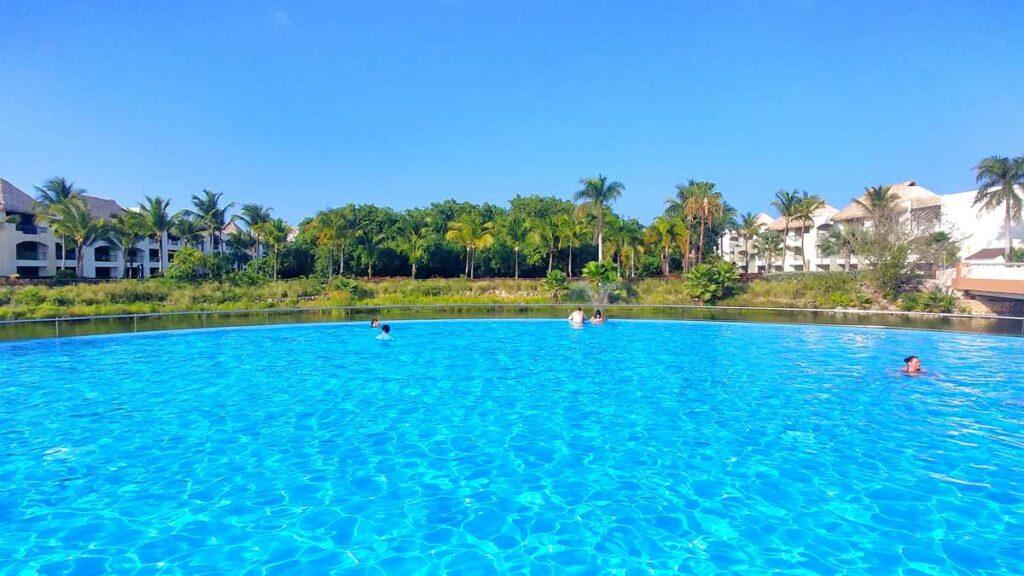 One of the many pools at Hard Rock Punta Cana