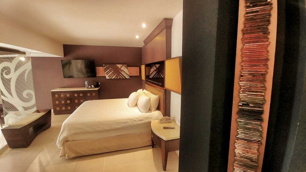 A suite at this Punta Cana all-inclusive resort, one of Hard Rock Punta Canas rooms